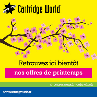 Offre printemps - Cartridge World Angoulême